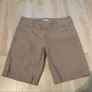 J. Crew Frankie shorts